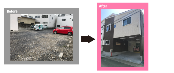 建設・改修工事の保育園整備(改修例)